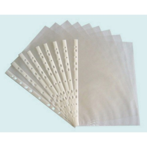 Sheet Protectors, letter, clear, 20 pack