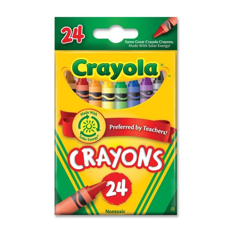 Crayons, tuck box, 24ct ; Brand: Crayola