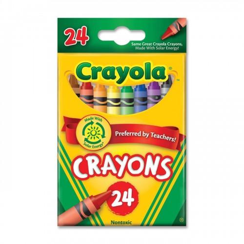 Crayons, tuck box, 24 count Brand: Crayola
