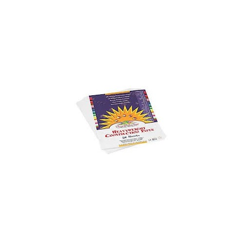 Construction Paper Bright White 12 x 18 50 count pack
