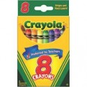 Crayons, tuck box, 8 count Brand: Crayola