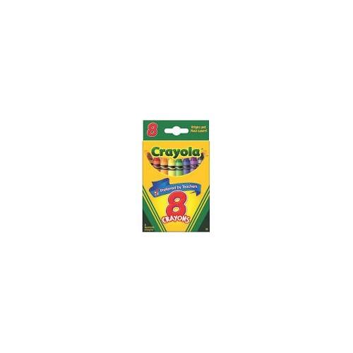 Crayons, tuck box, 8 count Brand Crayola