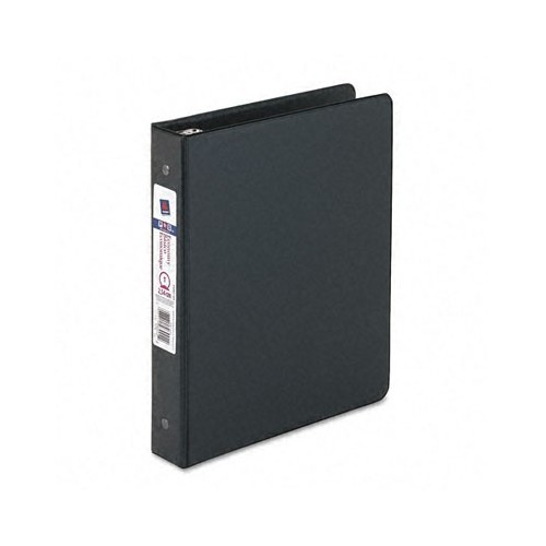 Binder, 3 ring, Clear view, 1 in, white