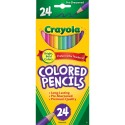 Pencils colored 7 inch 24 ct Brand Crayola