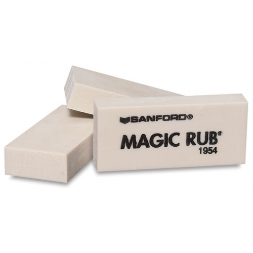 Magic rub eraser sanford