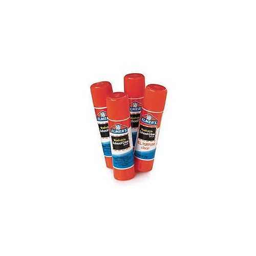Glue stick, all purpose, white, 24 oz.