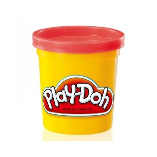 Play Doh, 4 oz. can, asst colors