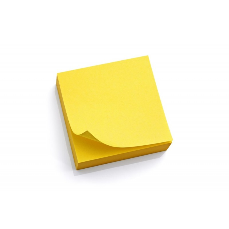 sticky notes  3x3  yellow  lined  100ct pad   brand  best