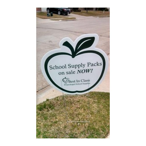 Driveway Sign, Best In Class School Supplies
