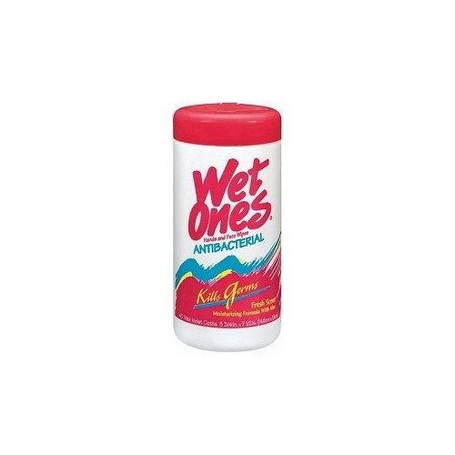 wipes, Wet-ones, anti-bact. 40 ct canister