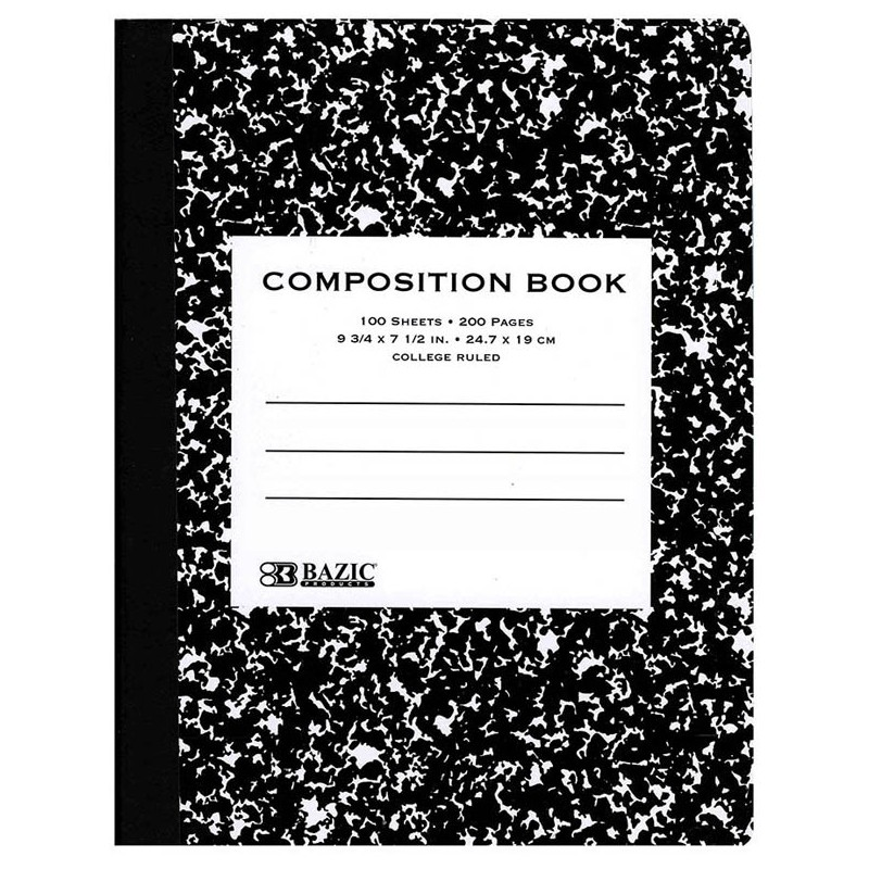 Composition Book College Rule 100 ct
