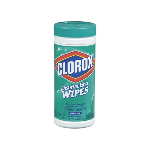Cleaning Disinfectant Wipes Clorox 35 count container