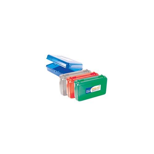 Pencil Box, 8.5 x 5.5, plastic, asst. colors