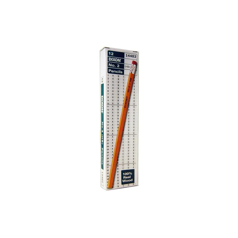 Pencil dixon 14402 12 count #2 pencils