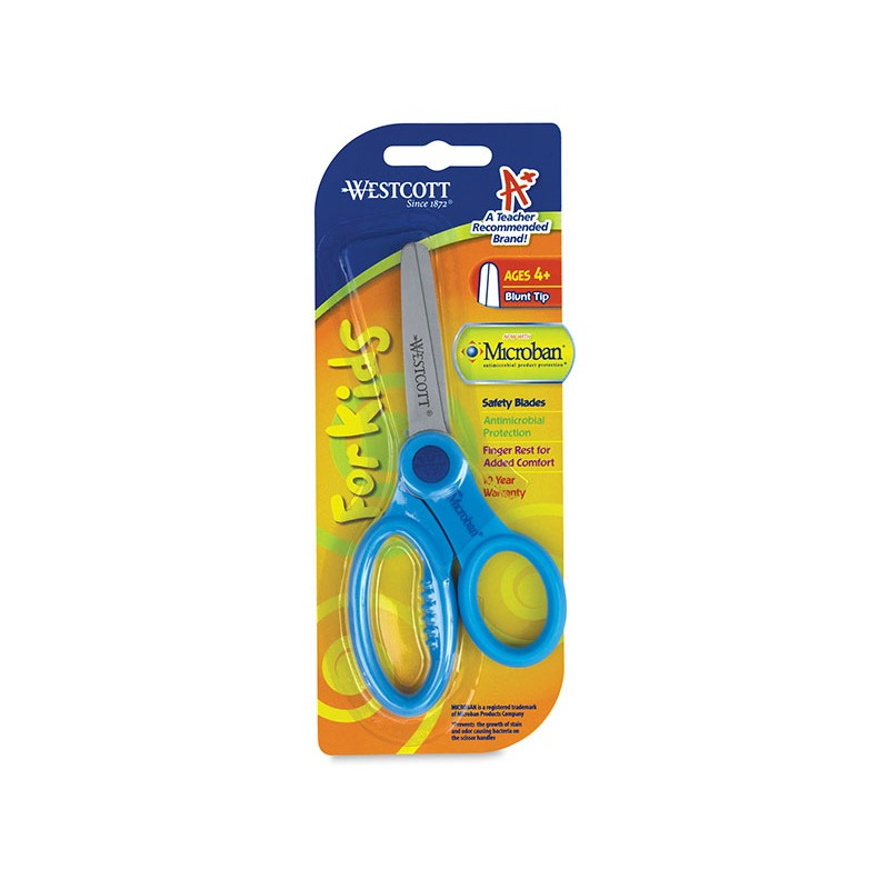 Scissors, wescott, pointed 5 inch, antimicrobial