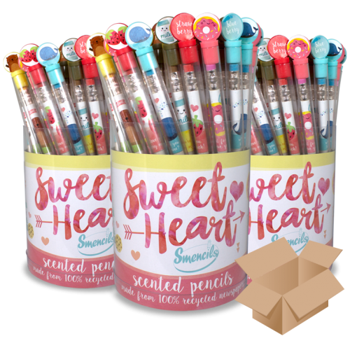 Valentine Sweet Heart Smencils