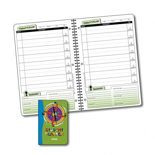 Planner, 5040 Undated Daily Elementary Student Planner