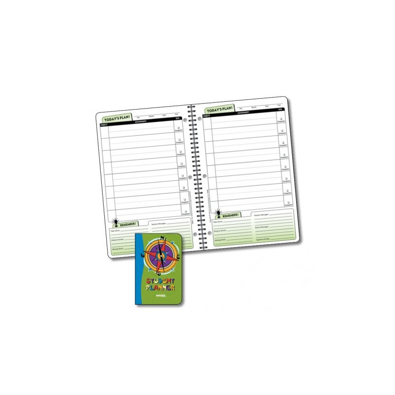 5040 Undated Daily Elementary Student Planner