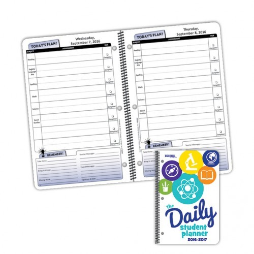 Planner 5020D Daily Elementary Student Planner Dated
