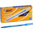 Pens BLUE medium pt round stic 12 count BIC