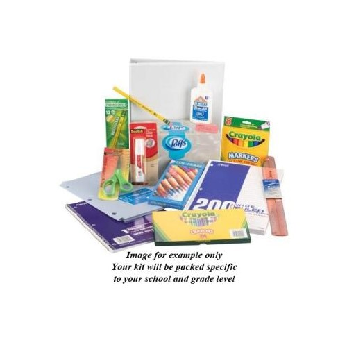 prek 3 yr extended School Supply Pack - Hill Country Christian