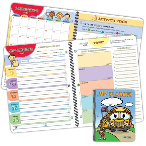 1020D Primary Student Planner Dated