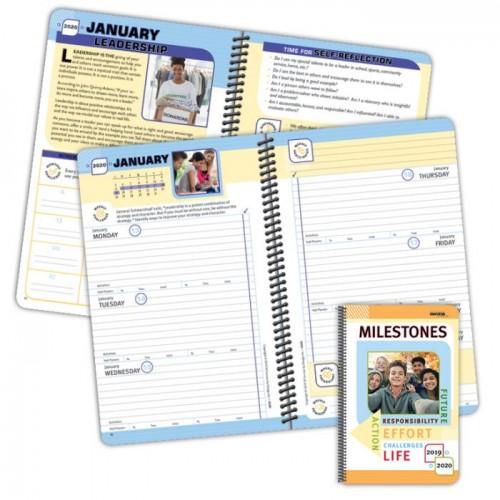 Planner, 450D Milestones High School Student Planner