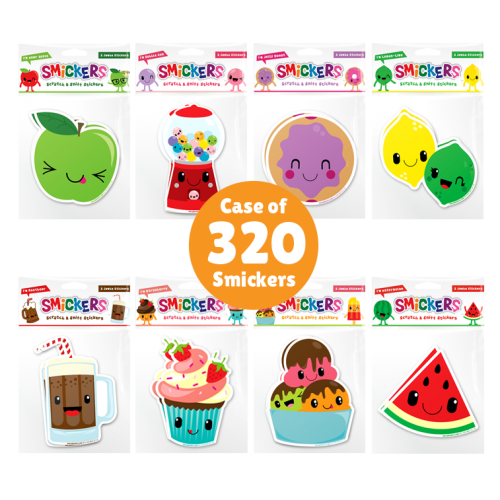 Smickers Jumbo Scented Stickers