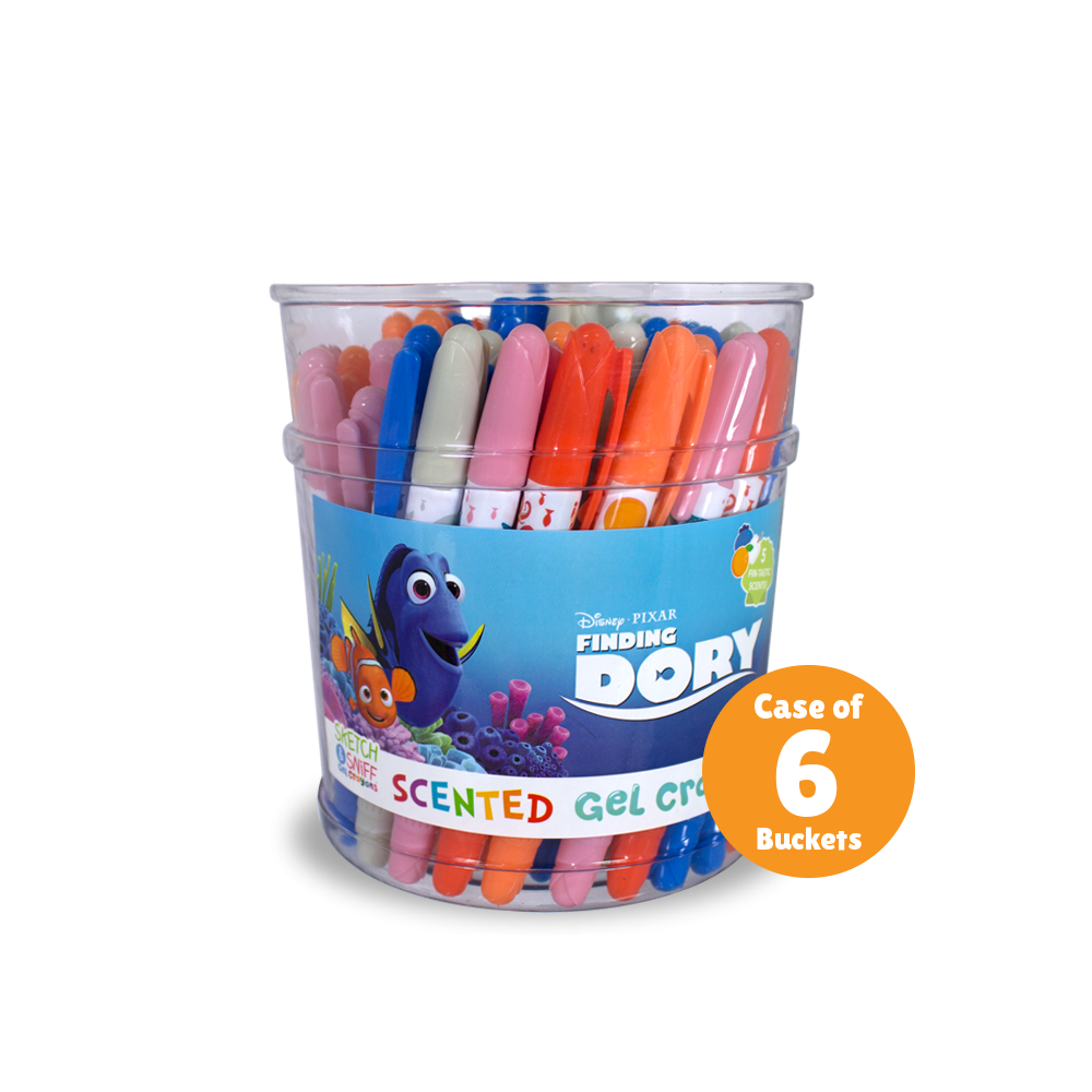 Gel Crayons Finding Dory Disney Pixar Sketch And Sniff