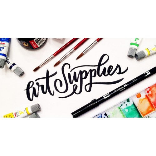 Art Supplies School Supply Pack - New Deal ISD