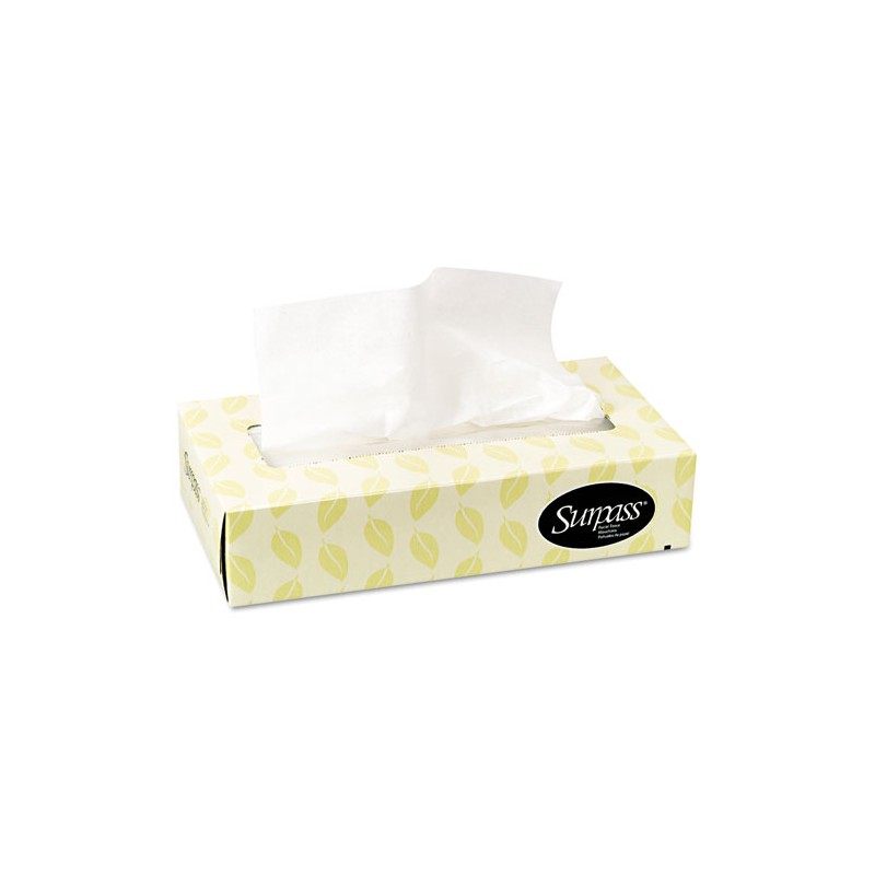 Kleenex facial tissue, flat box, 100 ct