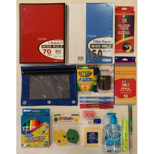 u Distance Remote Learning Home School Supply Pack LARGE