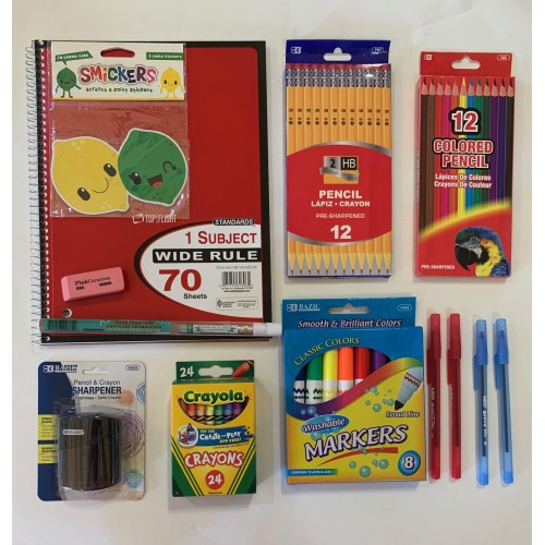 b Distance Remote Learning Home School Supply Pack VALUE