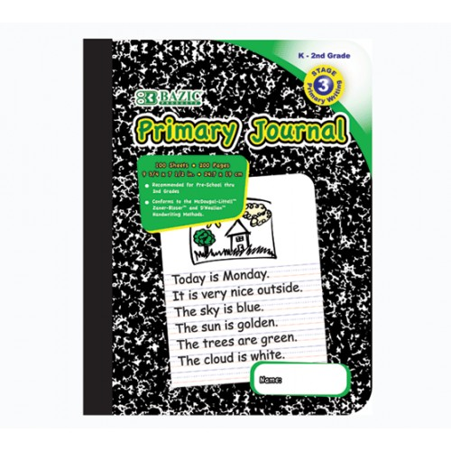 Composition Book Story / Primary 100 ct