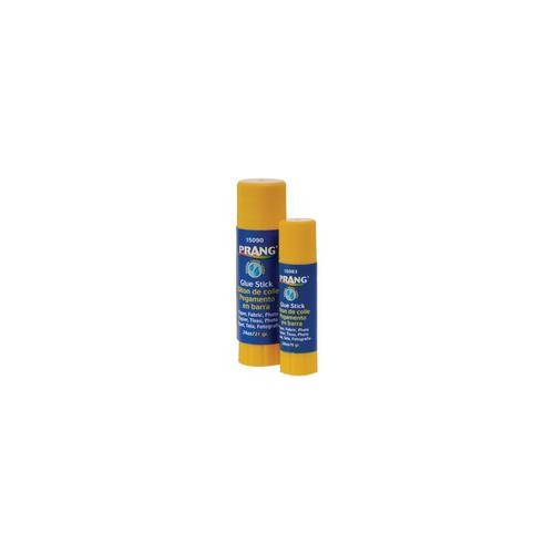 Glue stick, dries clear, .74 oz ; Brand: Prang