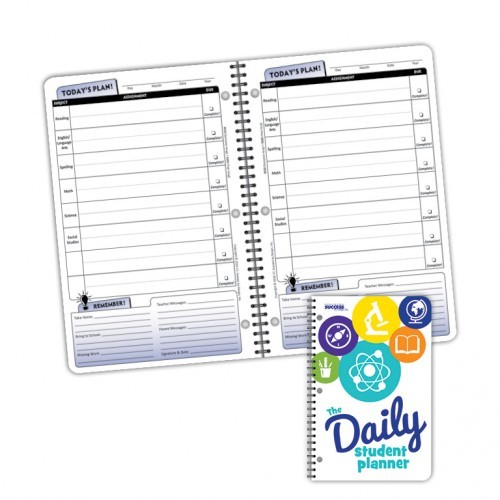 Planner, 5020 Not Dated Daily Elementary Student Planner NOT Dated