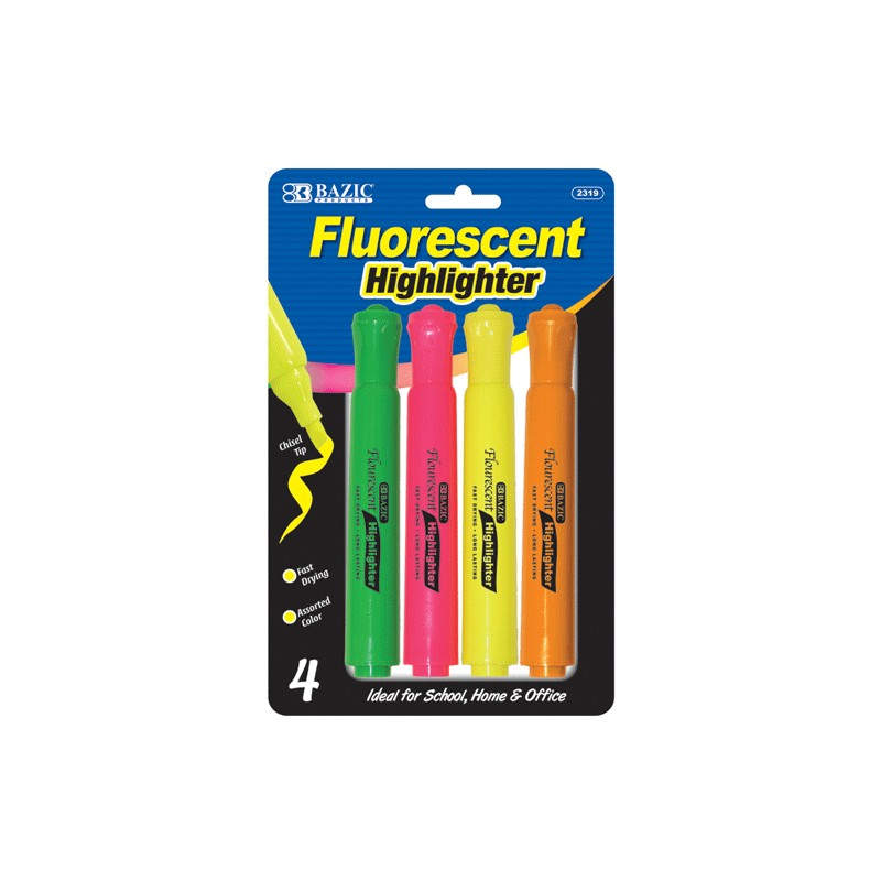 Highlighter 4 pack