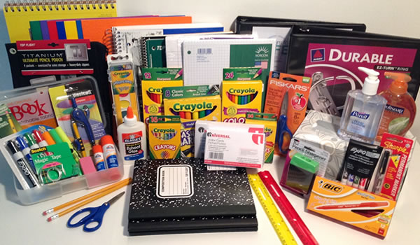 school supply packs from Best In Class School Supplies